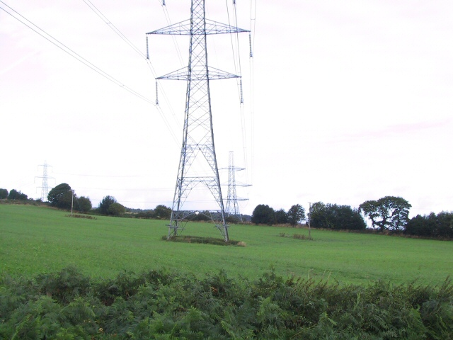 Pylons on the March