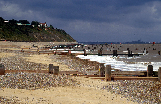 Beach south of Corton