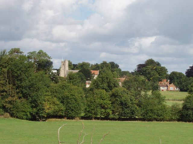 Dinton from the south