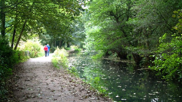 Cromford Canal, near Leawood Pumping Station, Cromford