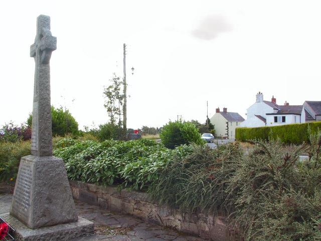 Bwlchgwyn Cenotaph