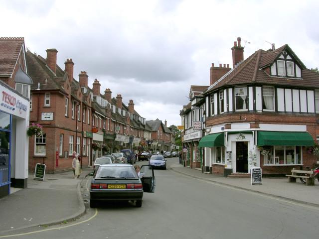 Brockenhurst village centre at Brookley Road, New Forest