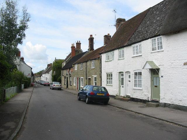 St James Street, Shaftesbury.Dorset.