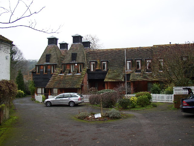 Converted Oasthouses at Puttenham
