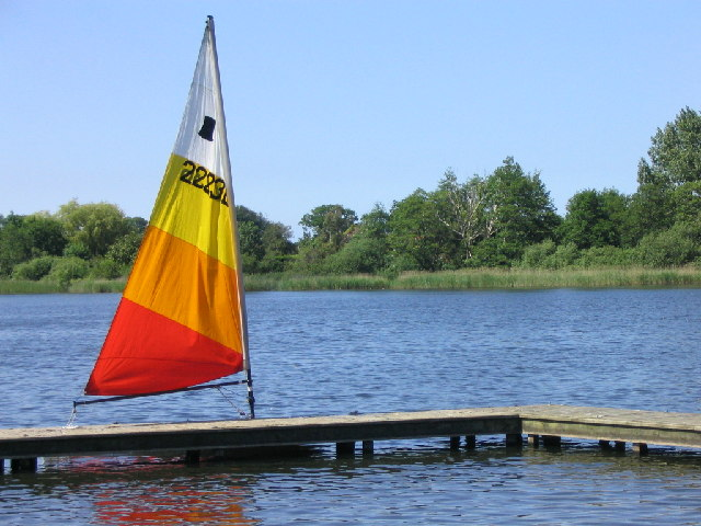 Rollesby Broad from the Sailing Club jetty