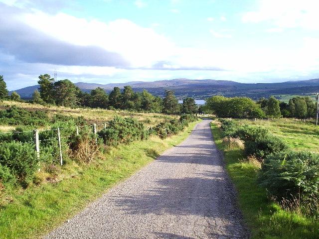 Road to Drumliah