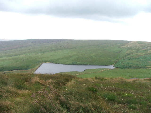 March Haigh Reservoir.