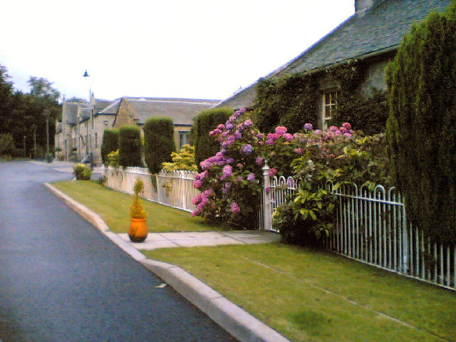 Cottages at Newbigging