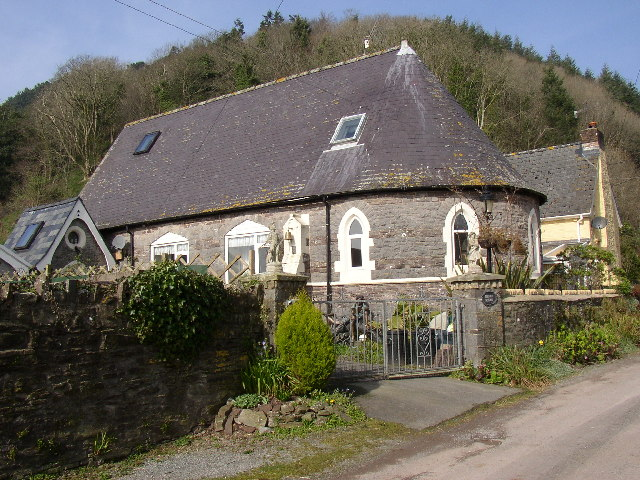 Former School, Brook, Llansadurnen