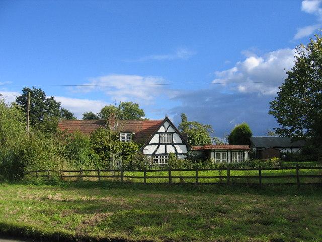 Cottage on Fen End Road