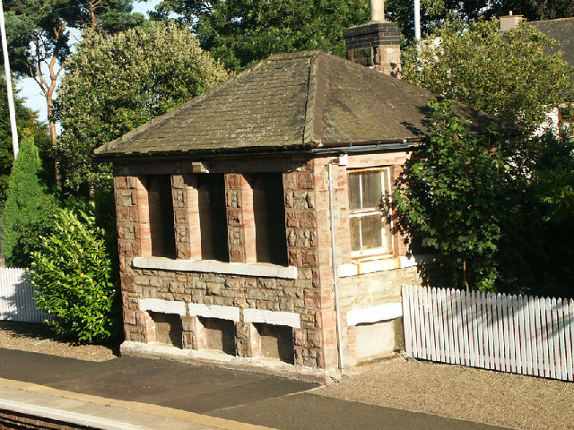 Aberdour Railway Station signal box