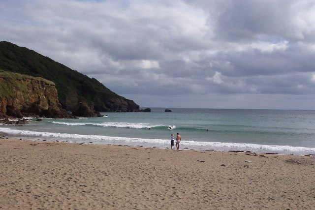 Porthluney Cove