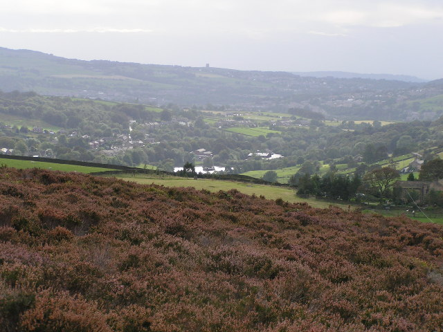 Sett Valley from Middle Moor