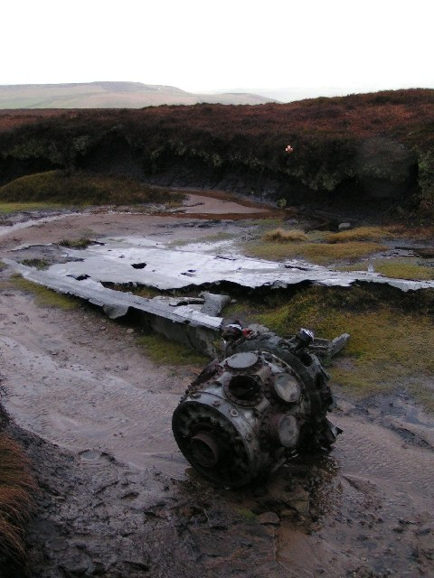 Liberator bomber wreck, Mill Hill