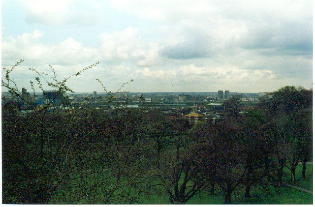 View from Greenwich Observatory to the Peninsula