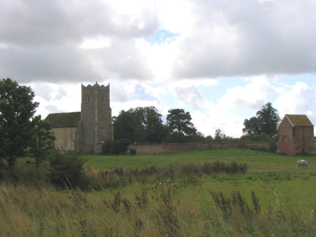 St. Mary's, Letheringham, Suffolk