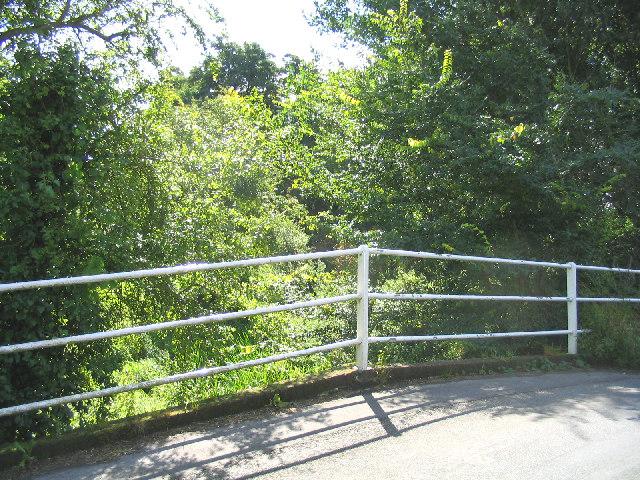 Bridge of River Alde, Bruisyard, Suffolk