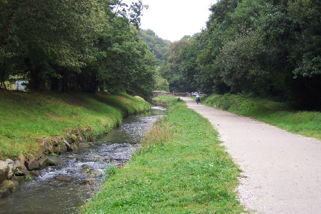 St Austell River and Cycle Path
