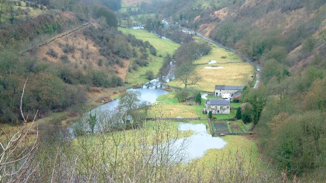 Monsal Dale in winter