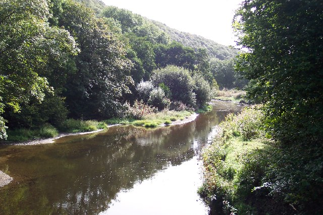 The River Camel at Grogley