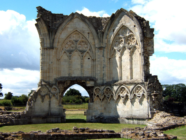Ruins at Thornton Abbey