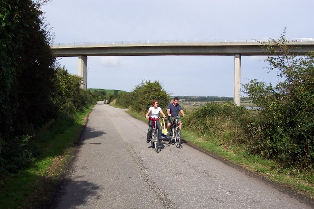 Wadebridge bypass viaduct