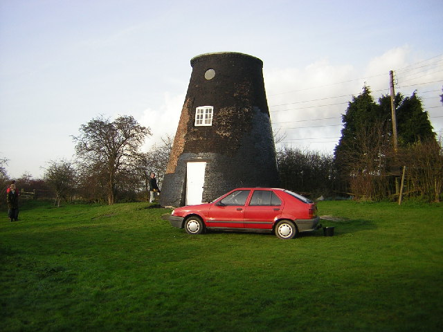 Old mill, Trent Port, Marton, Lincs.