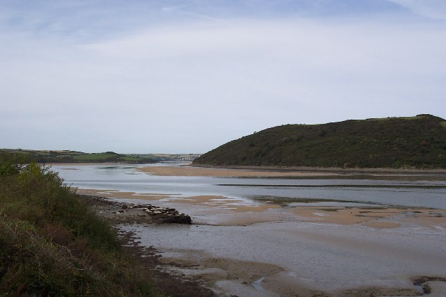Cant Hill and the River Camel