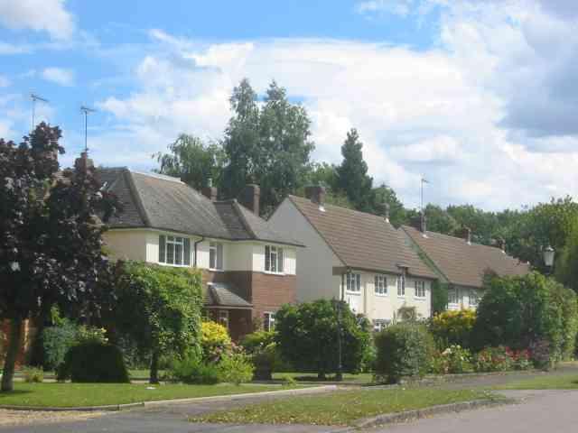 Houses in Rambling Way,  Potten End