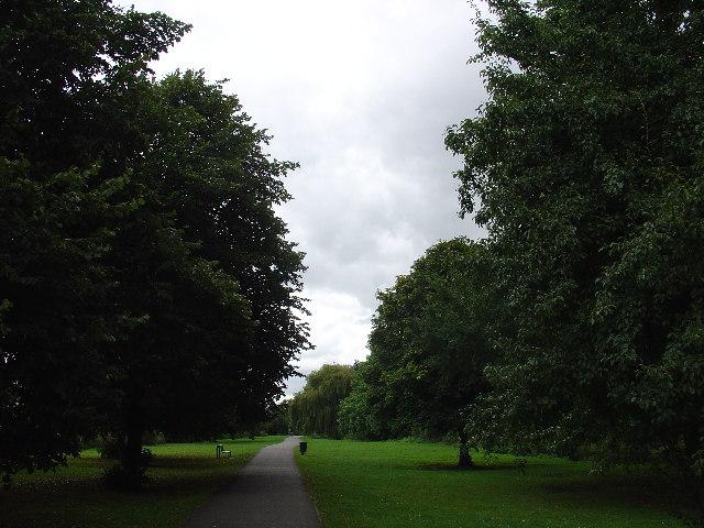 Park near the River Crane in Whitton