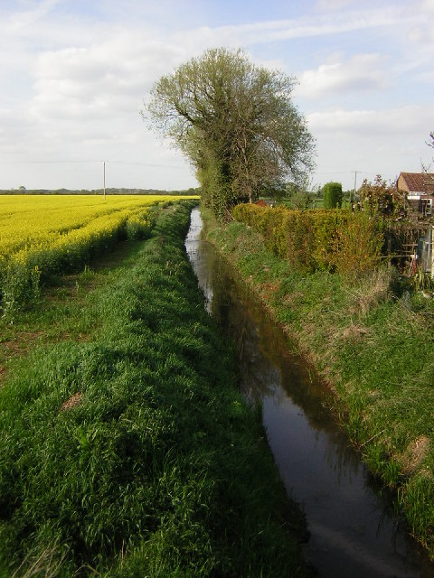 Ox Pasture Drain, Harby