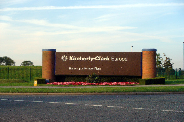 Kimberly-Clark Plant Entrance