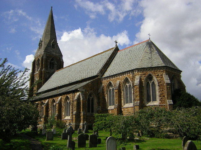 St.Mary & St.Gabriel's church, Binbrook, Lincs.