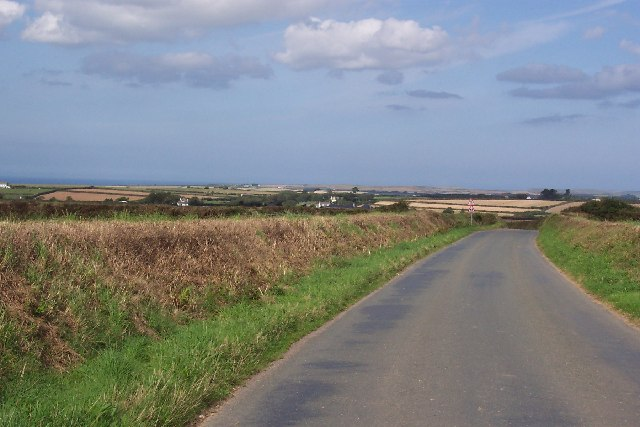 Country lane at Trevengenow