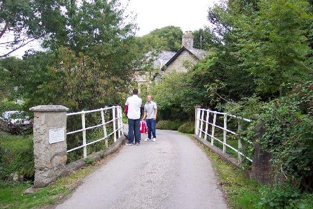 Country bridge near Trewerry Mill, Trerice