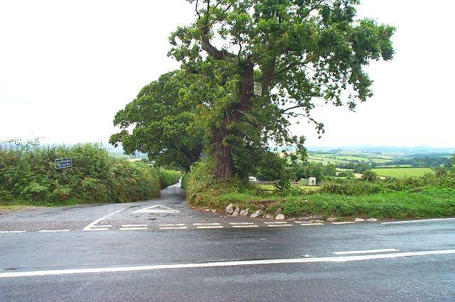 Red Post crossroads - Ipplepen