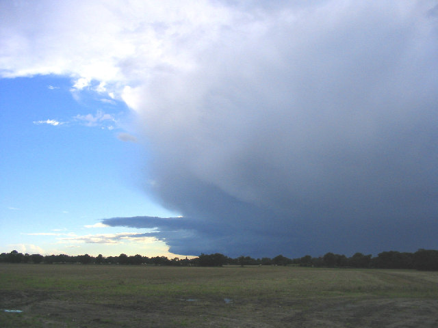 Approaching storm - near Westleton, Suffolk