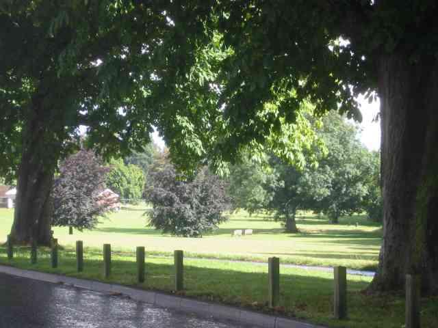 Green space in Boxmoor Hemel Hempstead