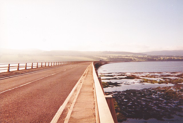 The Cromarty road bridge