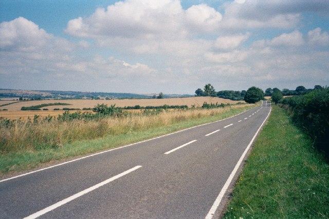 B4437 near Ascott-under-Wychwood