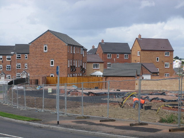New houses off Hedging Lane