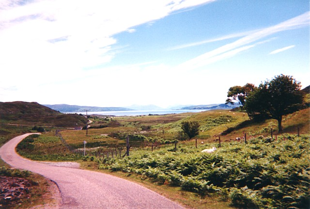 Looking towards Mull and Moidart
