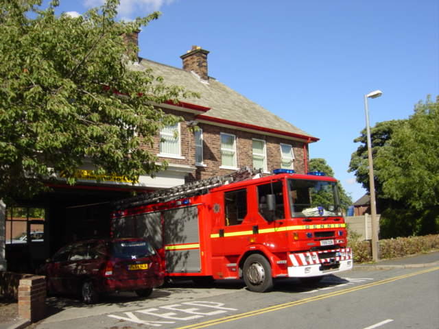 Whiston Fire Station