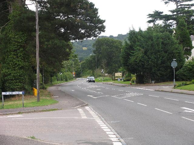 A40 London Road East of Cheltenham
