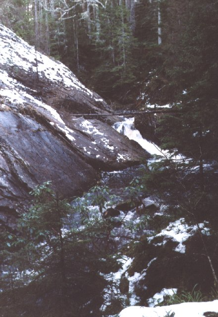Waterfall on the Alt Mor gorge