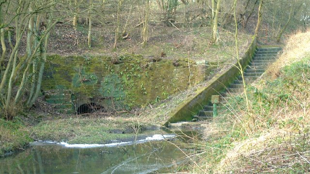 Eastern portal of the Butterley Tunnel on the Cromford Canal
