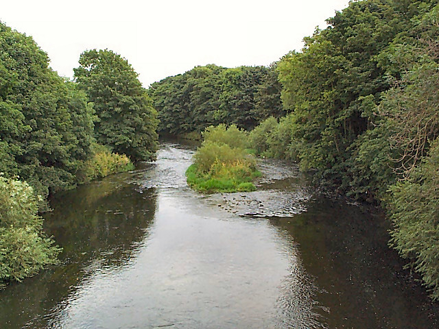 The River Aire near Rodley
