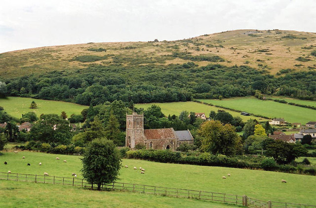 Compton Bishop: church and village