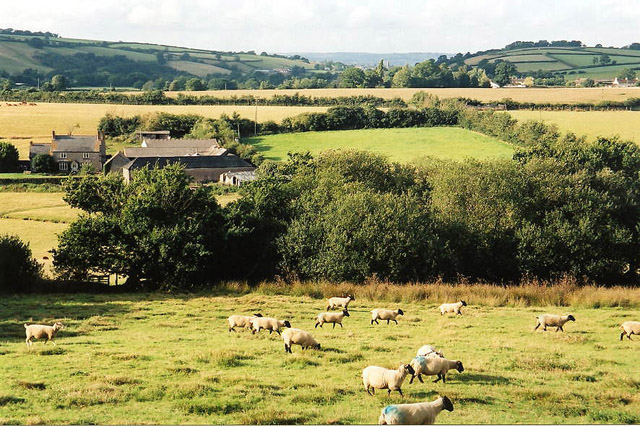 Bradninch: Garlandhayes Farm