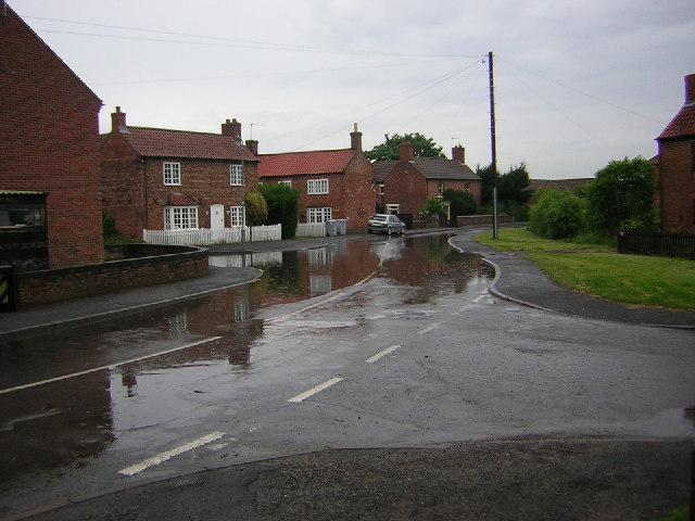 Low Street flooded